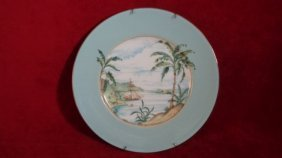 British Colonial Collection Plate By Chuck Fisher