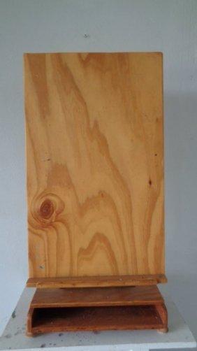Custom Wooden Desk Easel