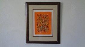 R Medina (1958 Ameri Born) New York - Original Acrylic