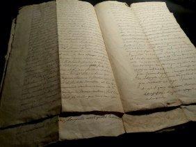 1789 Antique Document 8 Pages
