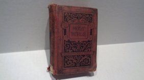 Antique Holy Bible - American Bible Society-1891