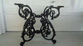 Cast Aluminum Victorian Ornate Table