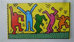 Contemporary Art Keith Haring New York Painting