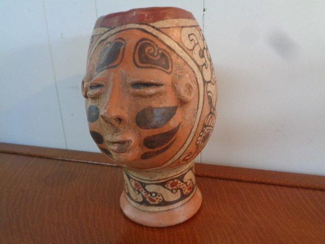 Pre Columbian Mayan Post Classic Bowl