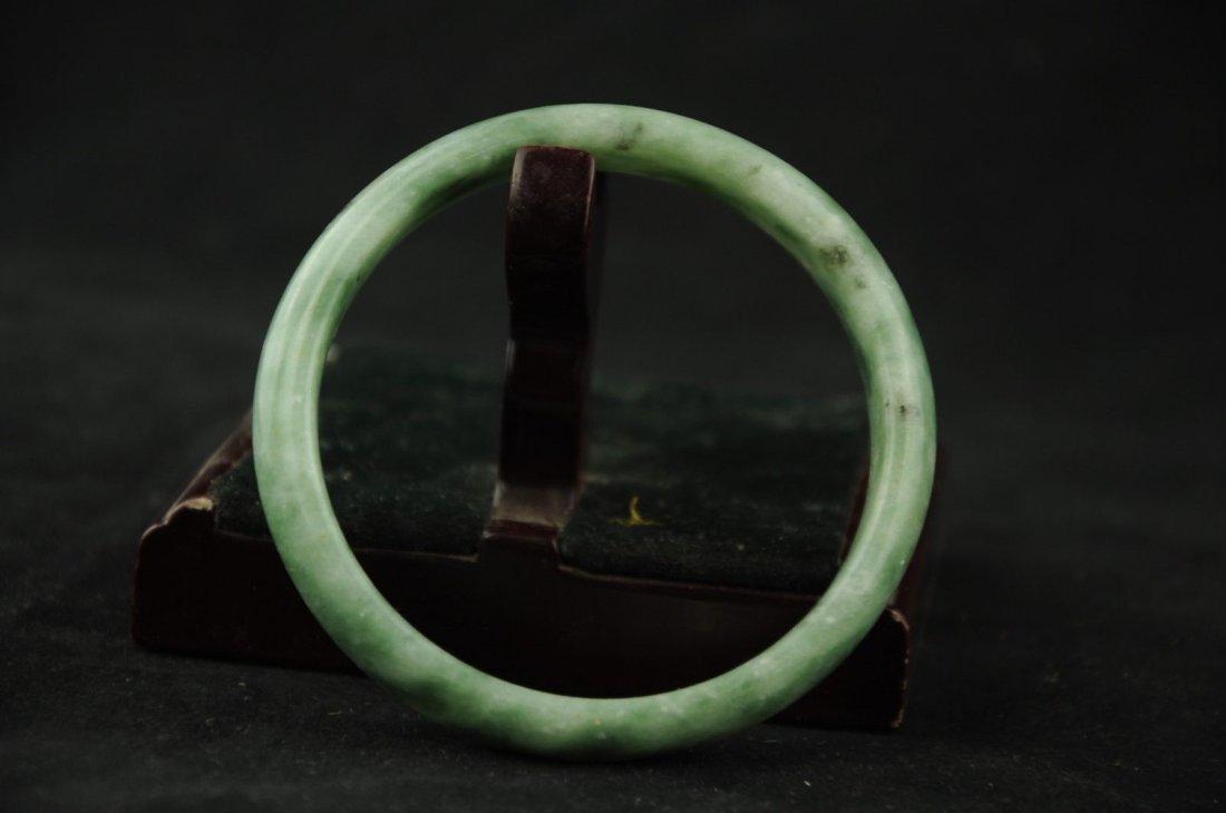 Jade natural hand-carved bracelet - 2