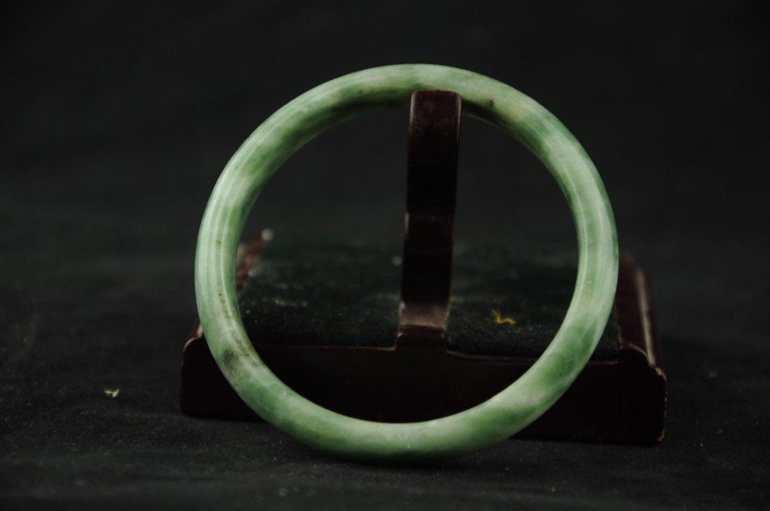 Jade natural hand-carved bracelet - 3