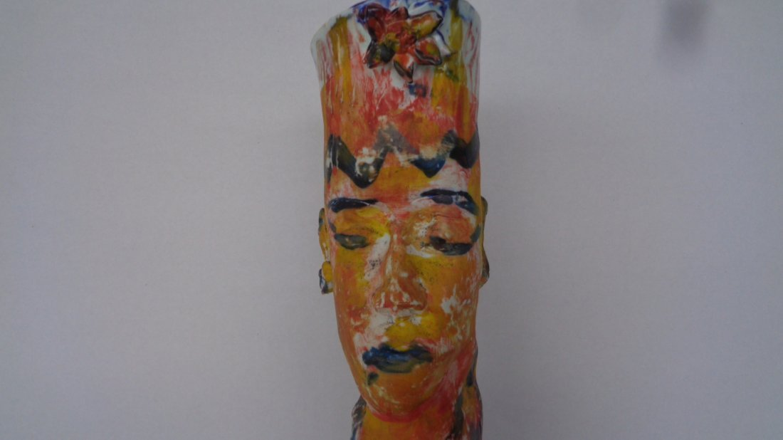 Lois Herrick Ceramic Sculpture Vase