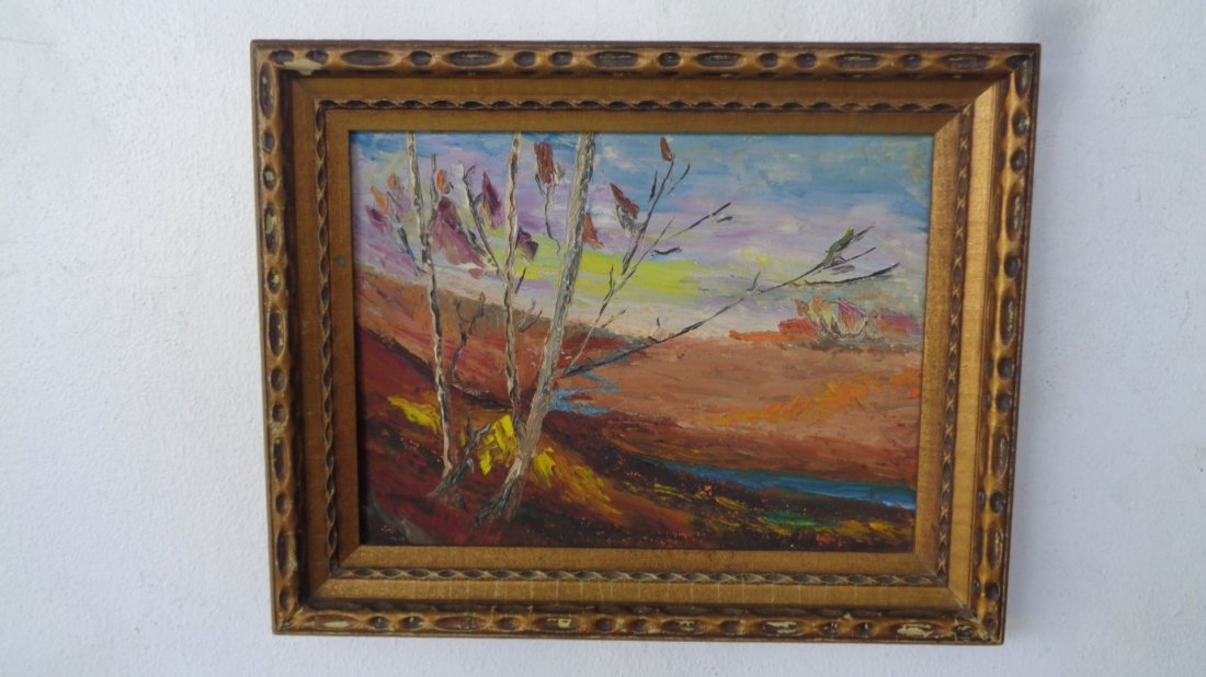 Original Oil Pallette Painting