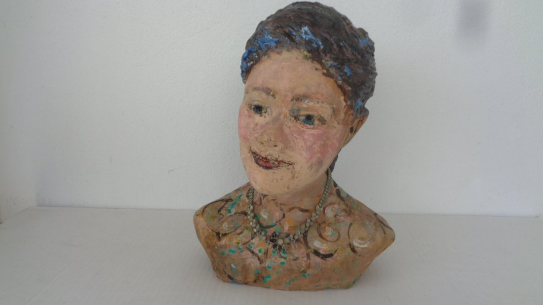 Lois B Herrick Whimsical ceramic 3D sculpture