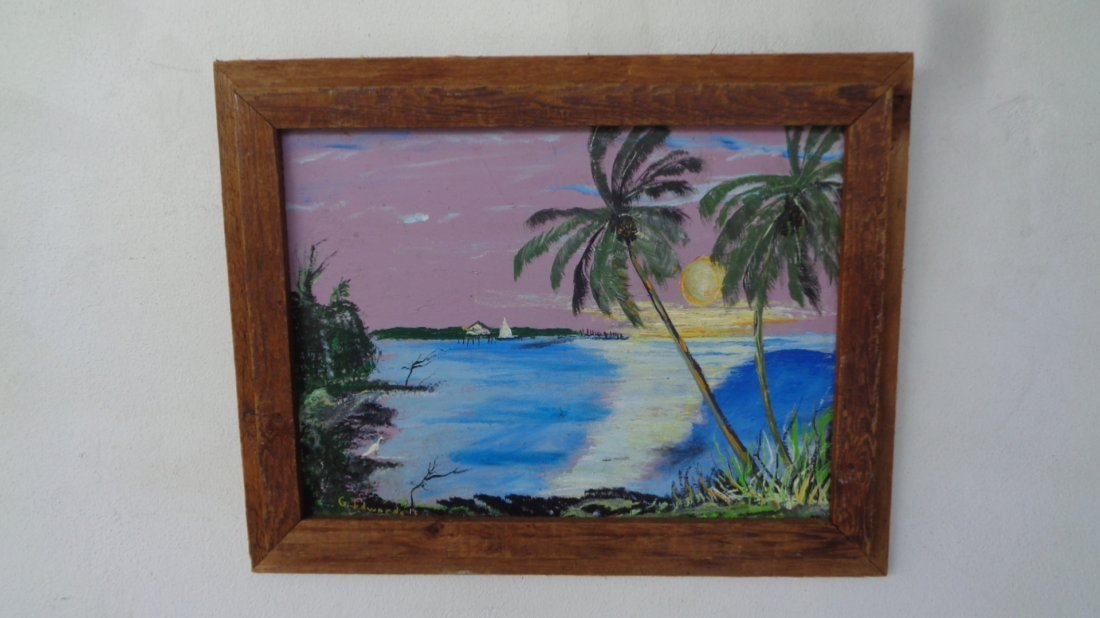 Original Plein Air Florida Keys Painting (Sundown)