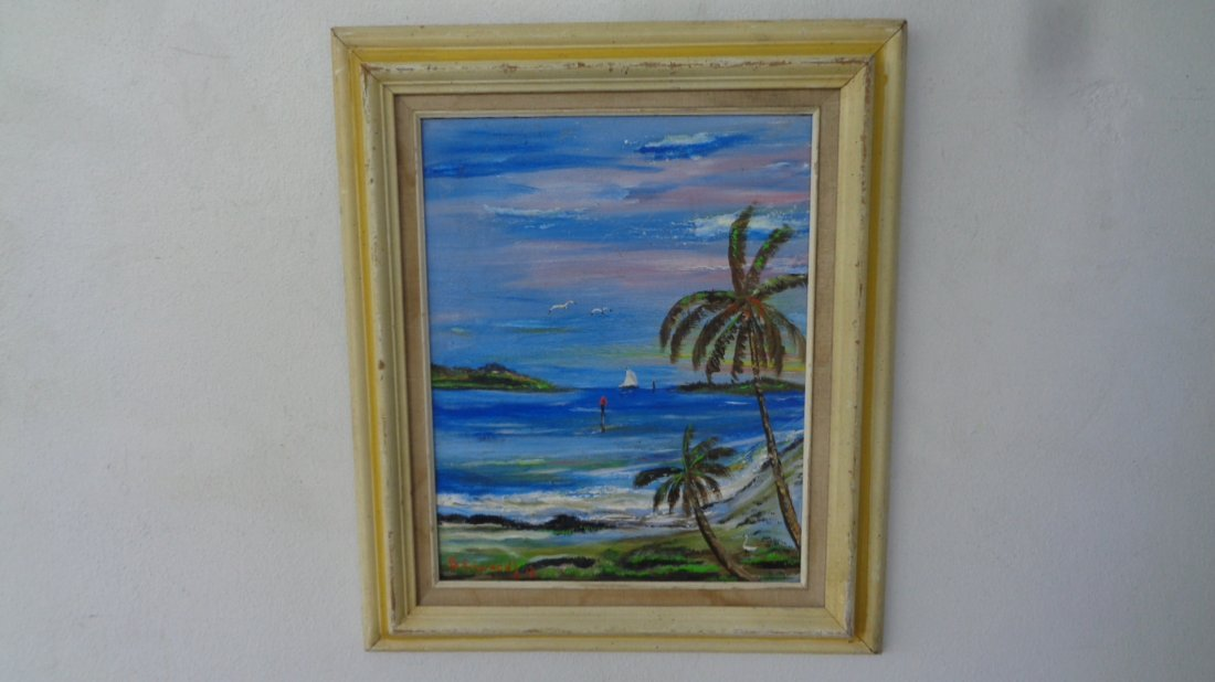 Original Plein Air Florida Keys Painting