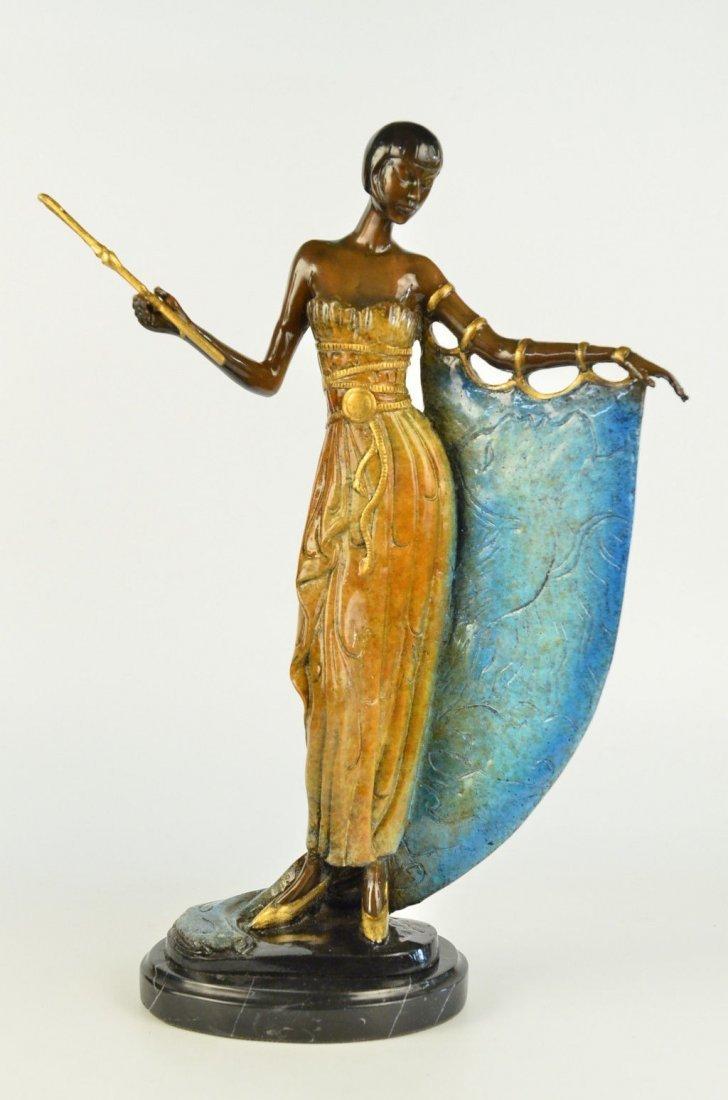 Art Deco Dancer Broadway Bronze Statue