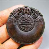 Chinese Antique Natural Jade-hand-carved Old Jade