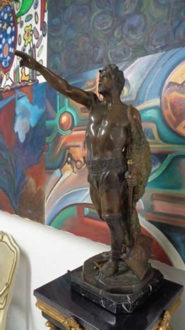 Vincenzo Cinque Bronze (Italian, 19/20th c.)
