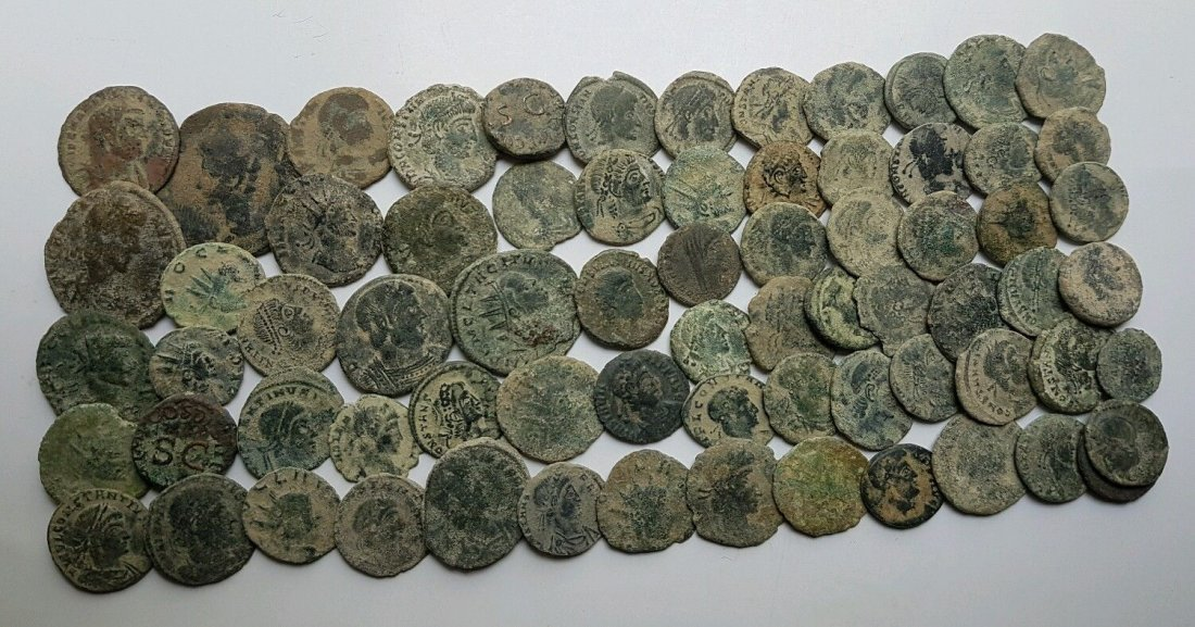 Lot of 70 Roman Coin