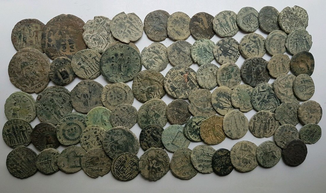 Lot of 70 Roman Coin - 2
