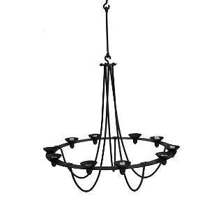 Iron Chandelier for Candles