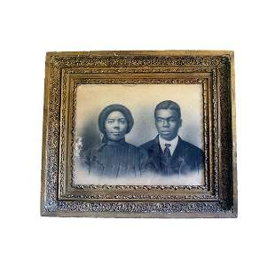 Portrait of an African American Couple. Print.