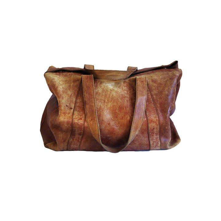 Mark Cross Leather Travel Bag