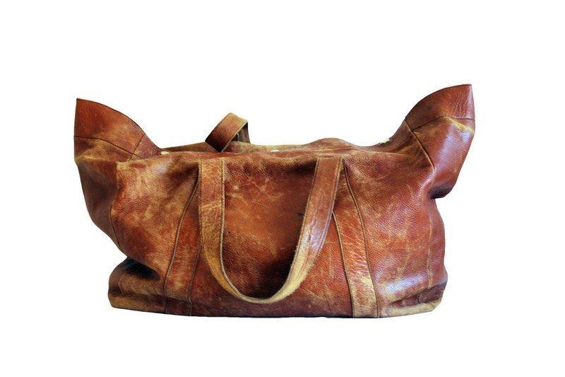 Mark Cross Leather Travel Bag - 2
