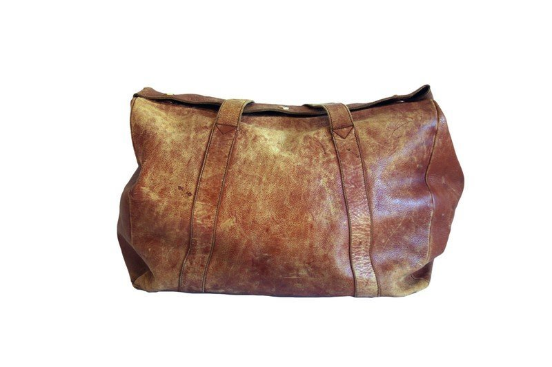 Mark Cross Leather Travel Bag - 3