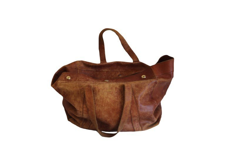Mark Cross Leather Travel Bag - 4