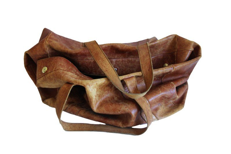 Mark Cross Leather Travel Bag - 5