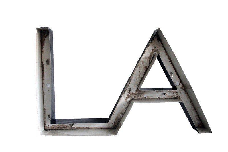 L.A Sign / Neon Light Fixture