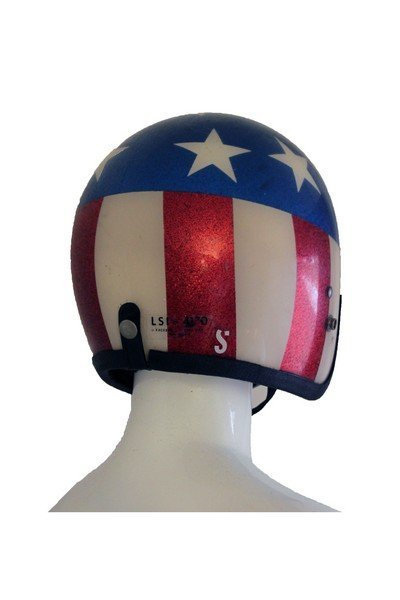 American flag helmet