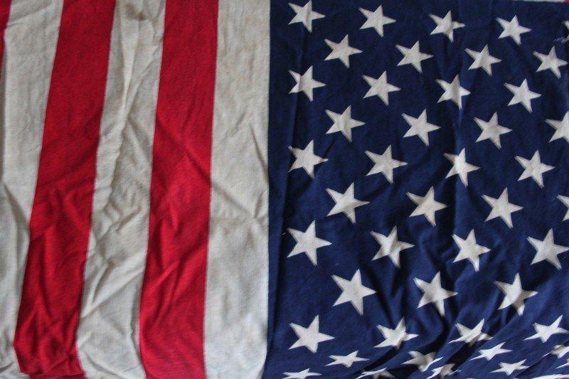 Lot of Vintage American Flags - 6