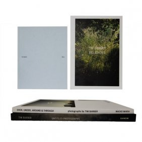 Tim Barber Photo Books (Signed) with Agnes B. Tote Bag