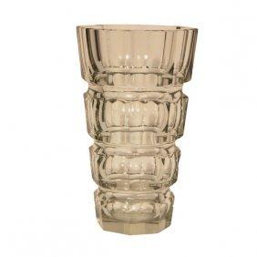 Josef Hoffmann Crystal Vase