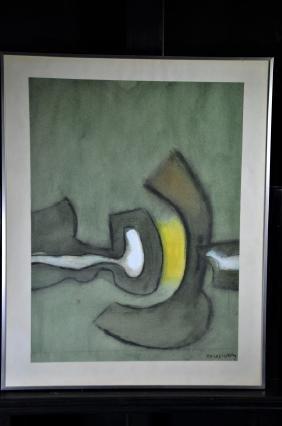 Kolos-Vary, 1899 - 1983, Gouche. 51 x 38cm.