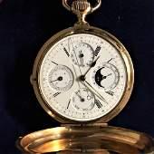 188 carat rose gold pocket watch Signe Pottevin