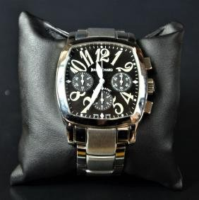 Automatic steel chronograph DANIEL JEANRICHARD. With