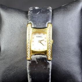 18ct gold wristwatch EBEL (30 gr) nacre clock face