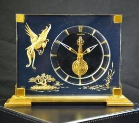 Table pendulum JAEGER LECOULTRE 8 day mechanism.