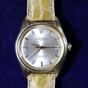 Montre-bracelet ROLEX Big Bubble back, en or rose,