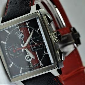 TAG HEUER  Monaco. Limited edition for Porsche. Nr.