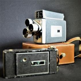 1 film camera Kodak Turret ScopeMeter and 1 Agfa