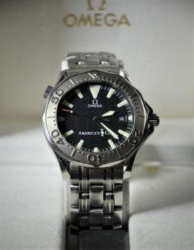 Wristwatch OMEGA America's Cup. Very good condition.