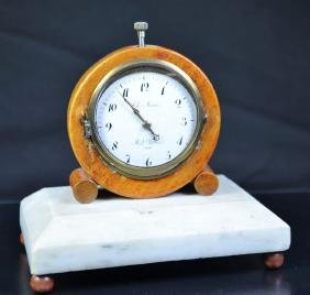 Desk clock with minute repetition CHARLES MARTINE