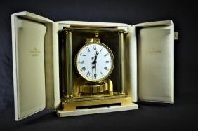 Pendule ATMOS Jaeger-Lecoultre, modèle Vendôme, avec