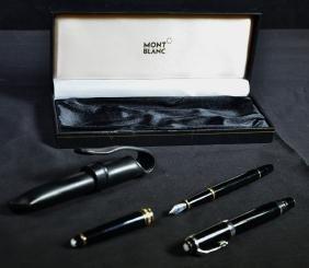 2 stylos Mont-Blanc.