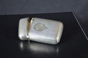 Silver cigarette case (62gr)