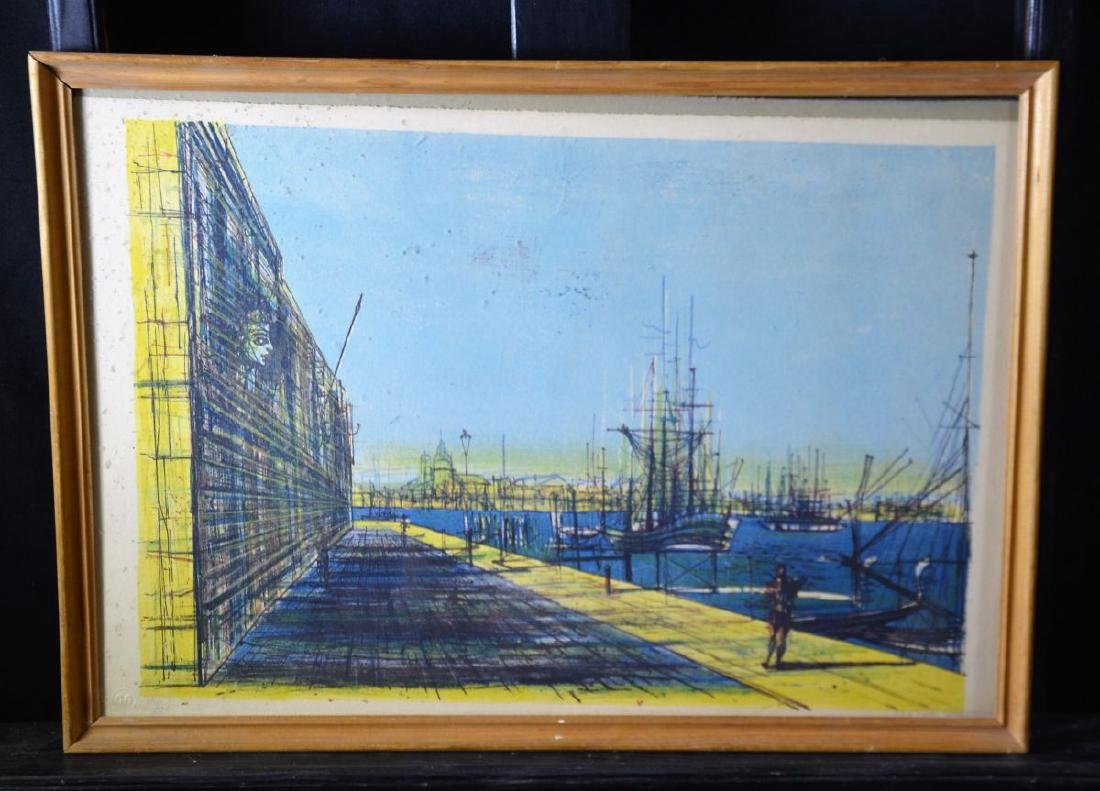 Lithography 11220, signed Carzou, 55. 38 x 56cm