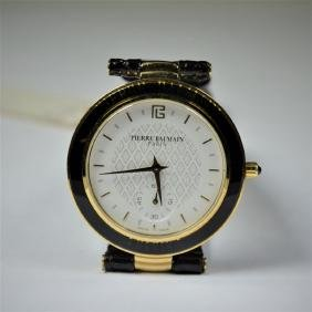 PIERRE BALMAN wristwatch, Diameter 32 mm. New old stock