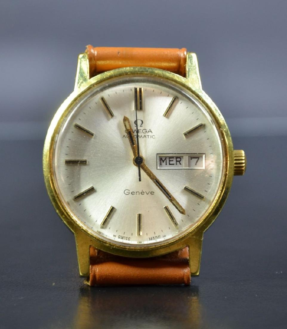 Automatic wristwatch OMEGA. With days and dates