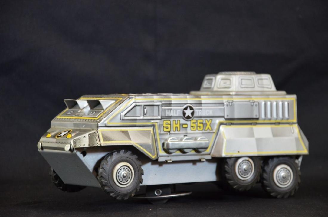 Jouet char d'assaut Semi Truck Sx55 fonctionnant avec