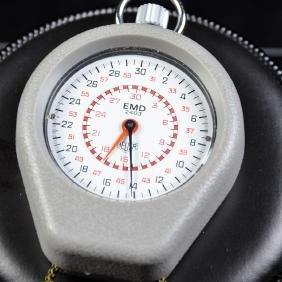 Sport stopwatch HEUER with protective sleeve EMD 2403